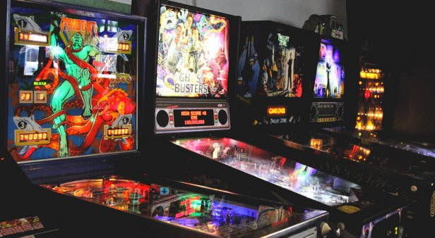 Pinball wizards and loaded sodas at arcade-game bar and diner Netherworld
