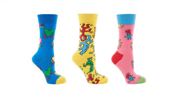 Bold as love – Happy Socks celebrates the legendary Keith Haring with a fresh capsule collection