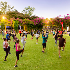New year, new you – improve your health with free (and fun) outdoor fitness classes