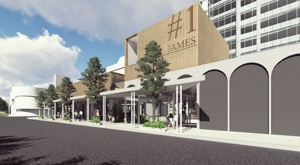 Not so common – James Street is getting an exclusive new food and retail precinct