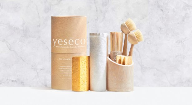 Ditch plastic in your kitchen for good with planet-friendly essentials from Yesēco