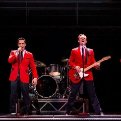 Oh, what a night – the Jersey Boys are back in town