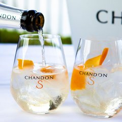 Chandon S Sunset Cabanas at Customs House