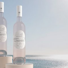 Help save our oceans by raising a glass of French Le Rosé Bleu