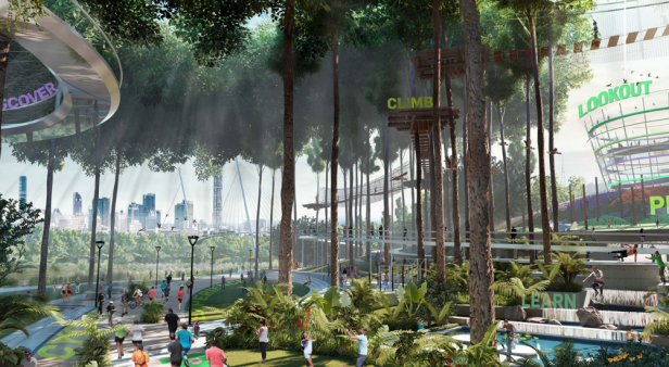 Exciting new concepts unveiled for Victoria Park's transformation