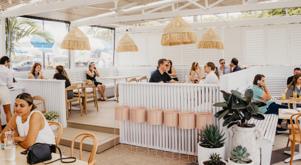Savour seafood and spritzes up high at Kangaroo Point's new cliffside cafe Joey's